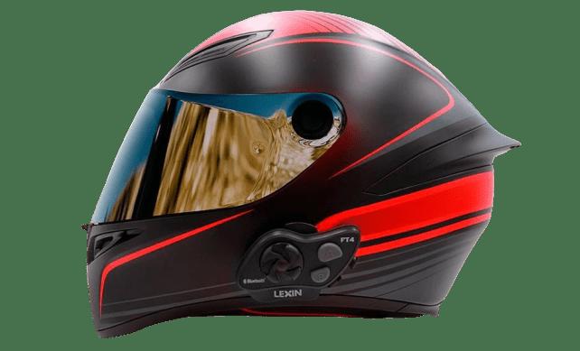 Casque moto intercom Lexin