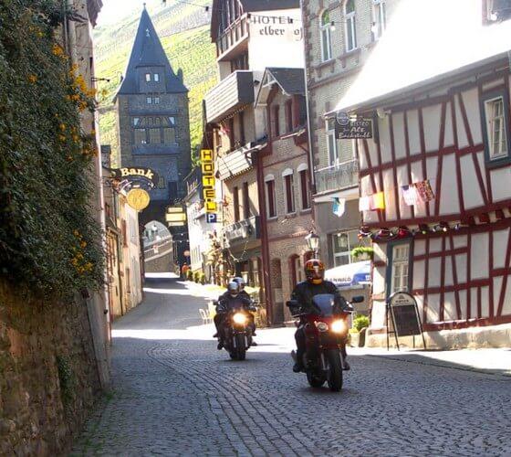 Rouler en ville à moto