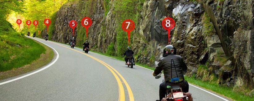 Communiquer avec des motards avec un intercom moto