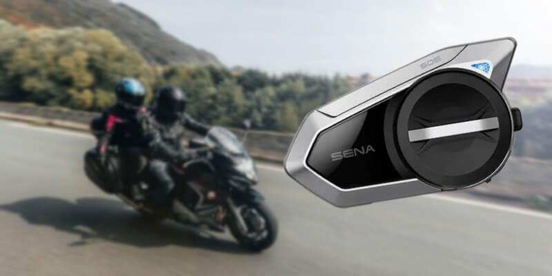 Que vaut le nouveau intercom moto Sena 50S ?